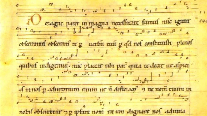 Partition d'Hildegarde de Bingen
